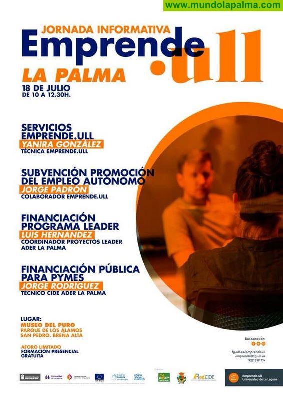 Jornada Informativa Emprende .ull La Palma