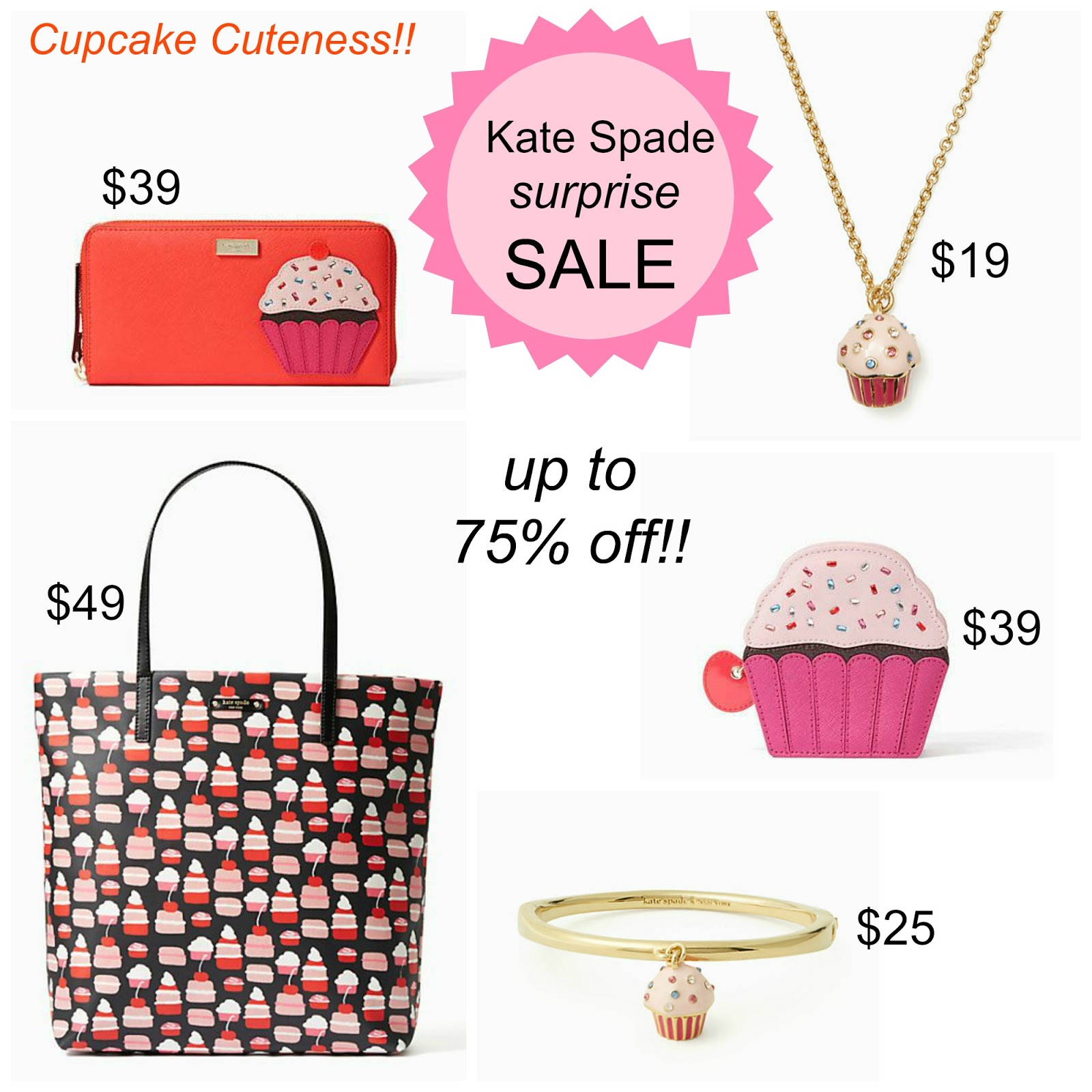 """Tracy's Notebook of Style: Kate Spade """"Surprise"""" SALE - up ..."""
