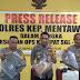 Operasi Keselamatan dan Bina Kusuma Singgalang 2019, Berikut Hasil Temuan Polres Mentawai