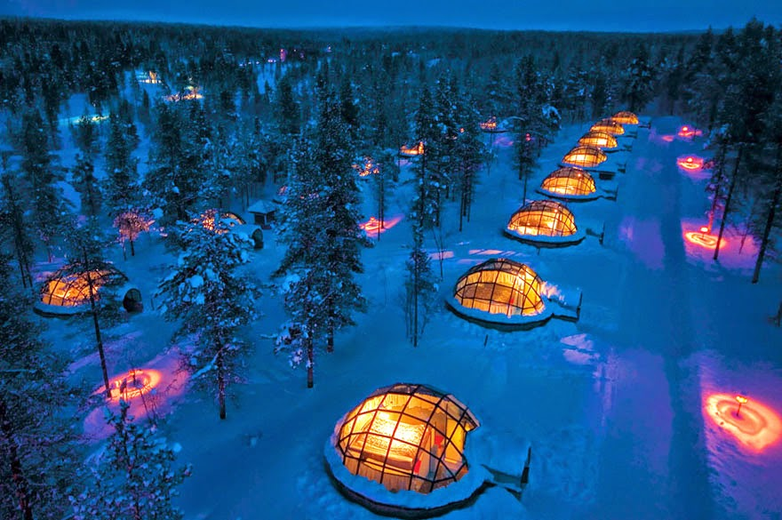 1. Hotel Kakslauttanen, Finland - 26 Of The Coolest Hotels In The Whole Wide World