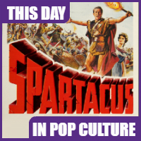 """Spartacus"" was released on October 7, 1960"