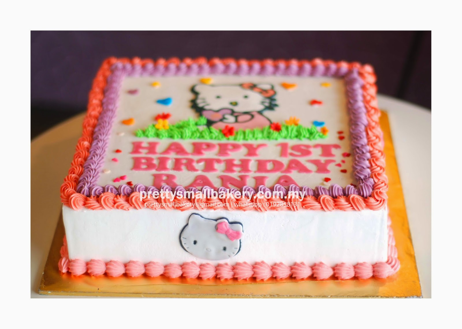 Kek Birthday Hello Kitty Prettysmallbakery