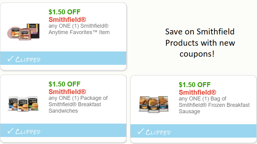 Smithfield printable coupons