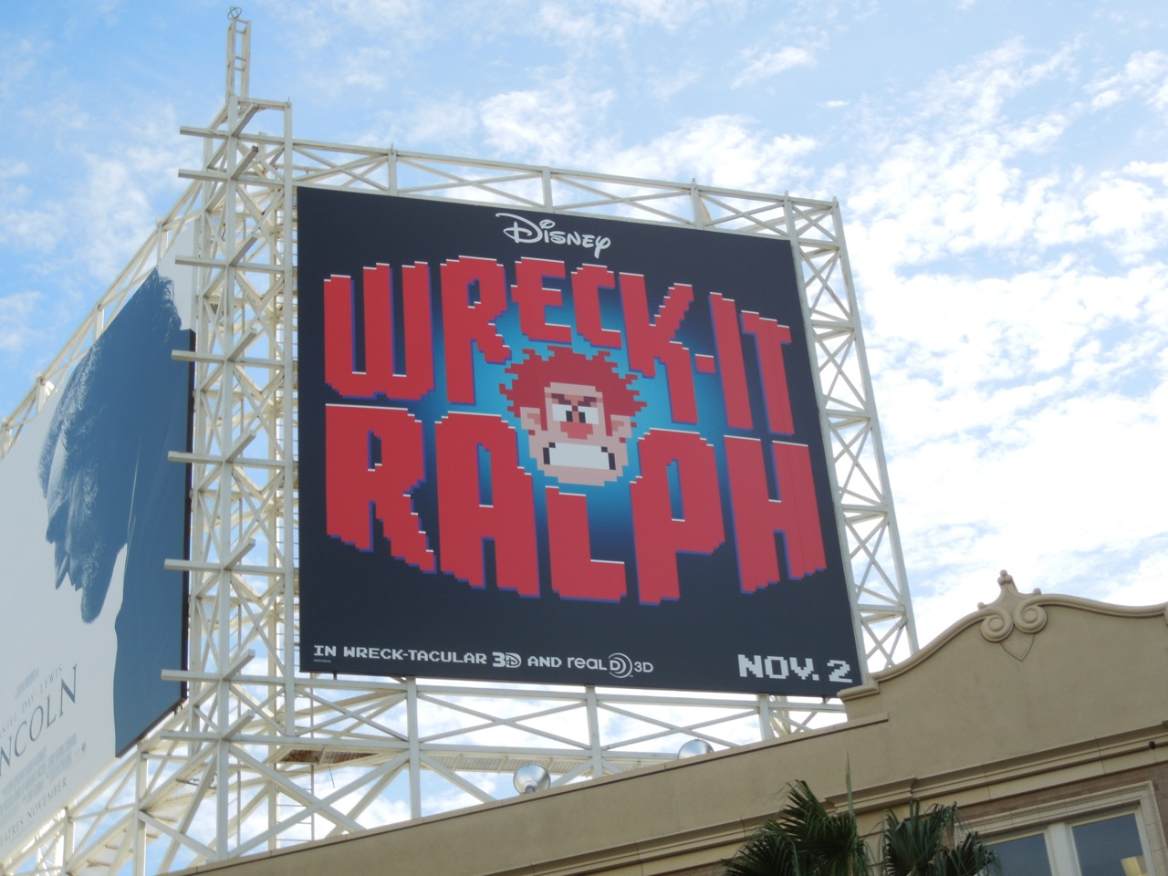 Daily Billboard MOVIE WEEK WreckIt Ralph billboards
