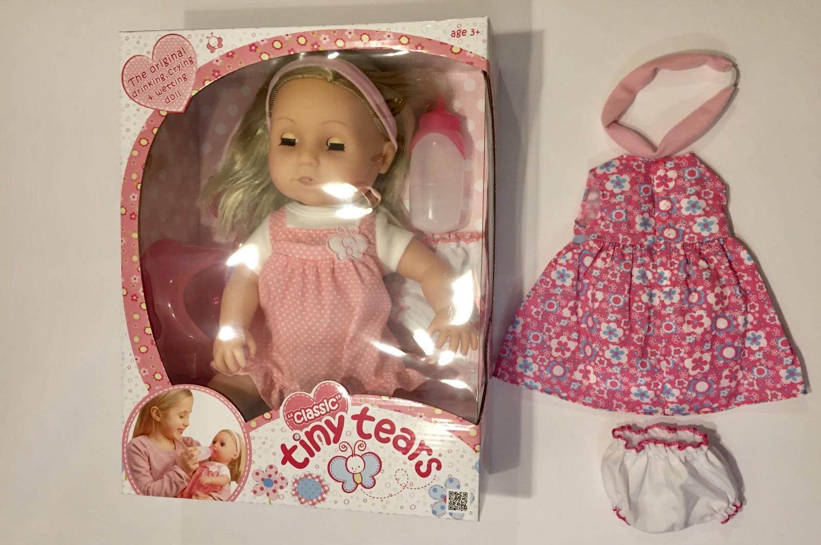 12ad1f3fffaa Classic Tiny Tears Doll has had a Makeover