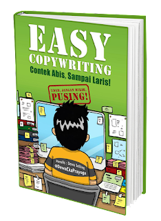 Easy Coppywriting, Buku Dewa Eka Prayoga