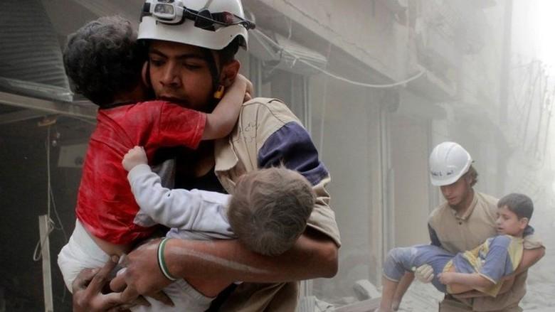 15 Orang Termasuk 3 Anak Tewas akibat Gempuran Israel di Suriah