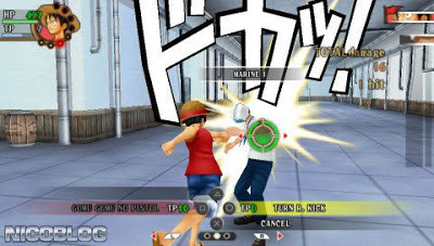 One Piece: Romance Dawn (English Patched) Game PPSSPP ISO Terbaru for Android