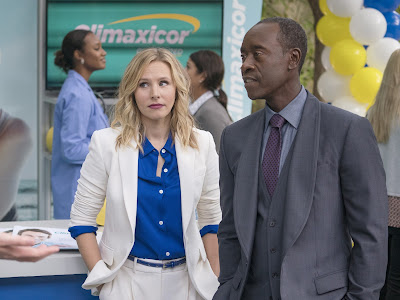 Kristen Bell and Don Cheadle of House of Lies