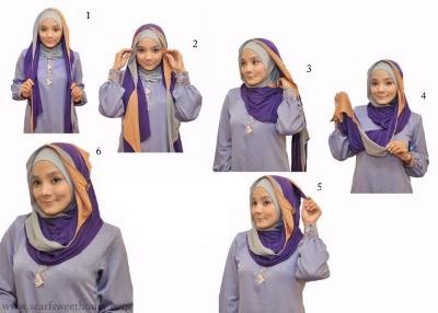 Cara Memakai Jilbab Modern Terbaru 2013  Aldio Blog
