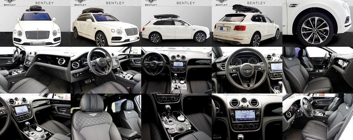 嘟嘟誌 全新 2017 Bentley Bentayga W12 6 0 抬頭顯示、跟車系統、太陽熱能方向盤
