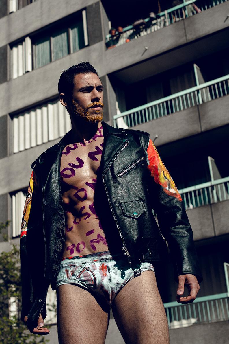 Hunksinspeedos French Male Model Nabil Taleb