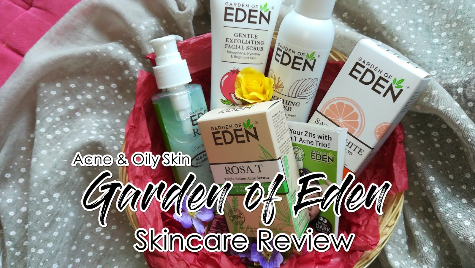 Zaps Your Zits with Garden of Eden !