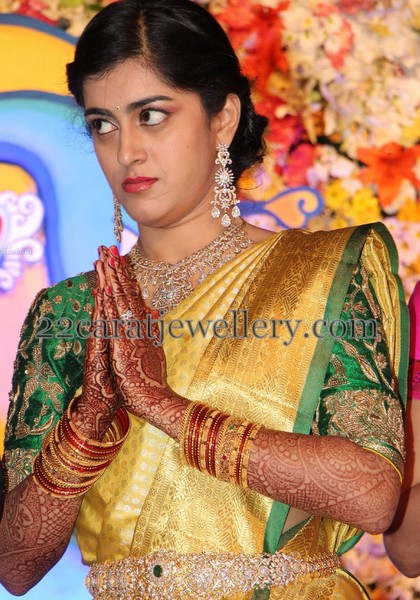 Producer Krishnam Raju Daughter Wedding