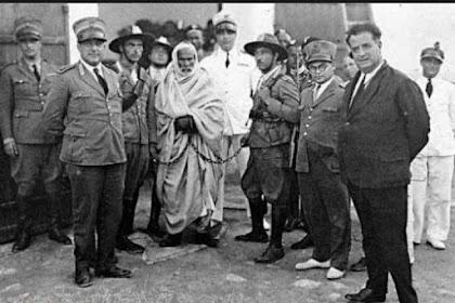 Dialog Luar Biasa Umar Mukhtar Dengan Hakim Penjajah Italia Sebelum Dieksekusi