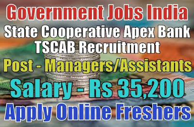 TSCAB Bank Recruitment 2019