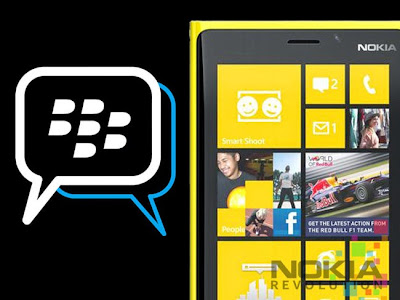 Aplikasi BBM Untuk Windows Phone Nokia Lumia 520