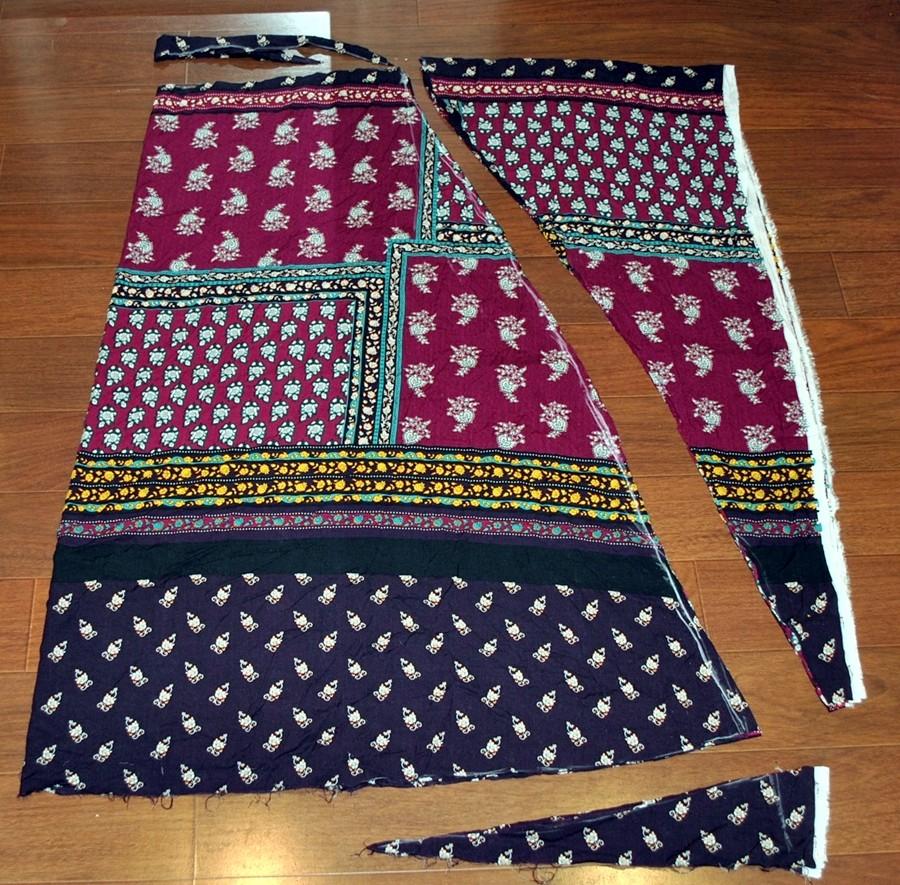 c9a4717a9 DIY maxi falda étnica   Diy & glam