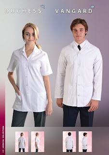 Salon uniforms medical wear catering uniforms for Spa uniforms johannesburg