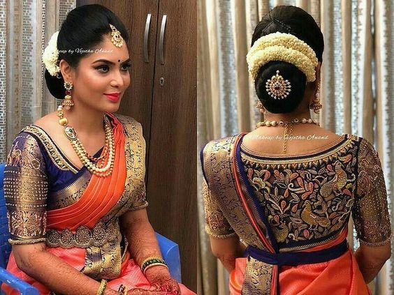 Unique beautiful Blouse Designs For Wedding