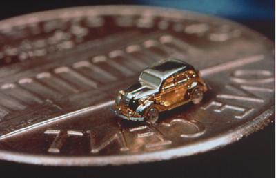 El cotxe més petit (amb motor) que s'ha fabricat mai