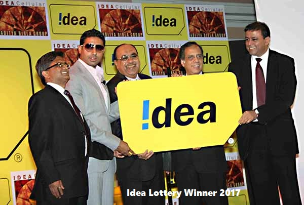 Idea Lottery Winner 2019