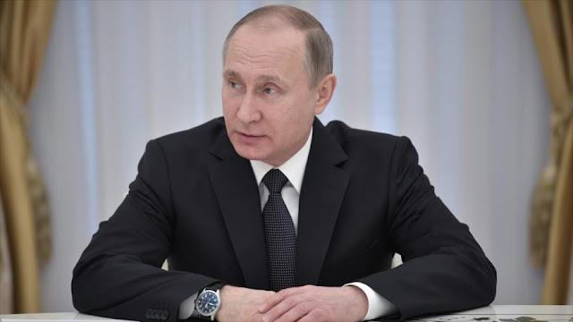 Putin advierte de amenaza terrorista en países de la antigua URSS