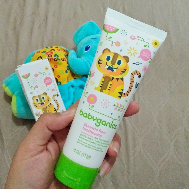 kemasan lucu babyorganics toothpaste