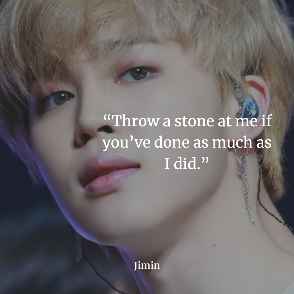 BTS inspiring quotes and lyrics and Best Sayings RM Jin