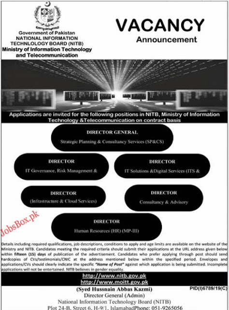 national-information-technology-board-nitb-jobs-2020
