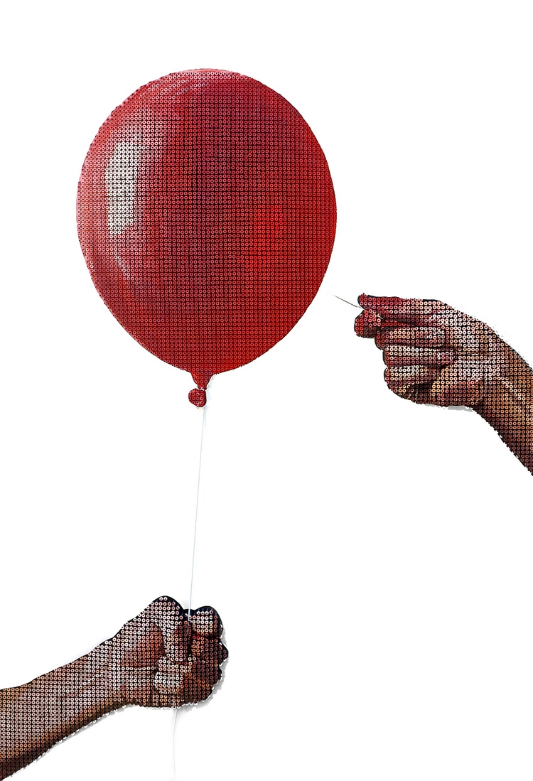 04-Because-My-Balloon-is-Made-of-Andrew-Myers-Sculpture-Paintings-Accomplished-using-Screws-www-designstack-co