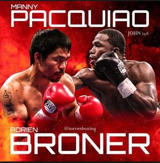 Manny Pacquiao fight against Adrien Broner formally announced
