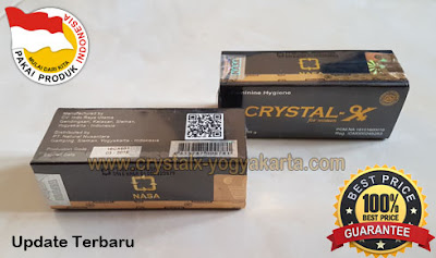 Crystal x yang Asli