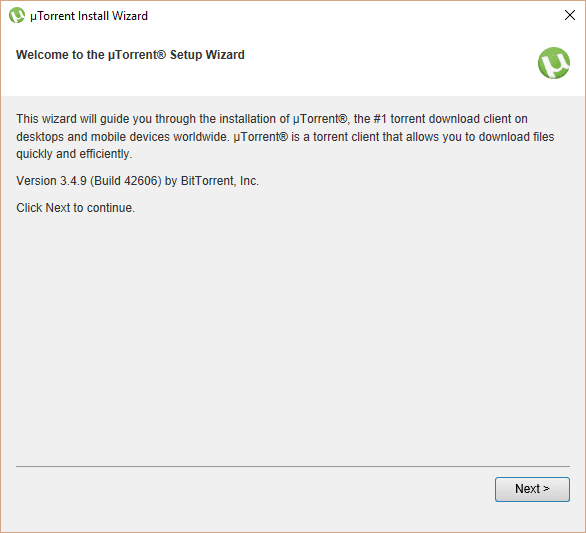 windows 10 free download utorrent