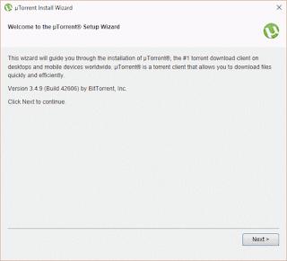 uTorrent Folder Windows 10