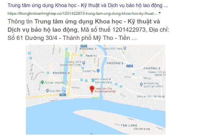 Trung tâm ứng dụng khoa học kỹ thuật và bảo hộng lao động - Tiền Giang
