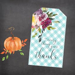 Fall Floral Gift Tags