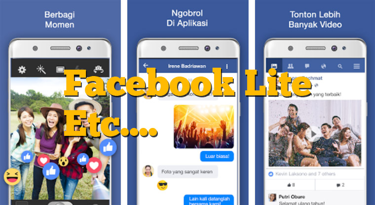 Aplikasi Facebook Paling Ringan Serta Hemat Kuota dan RAM