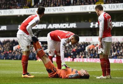 Injured Ospina