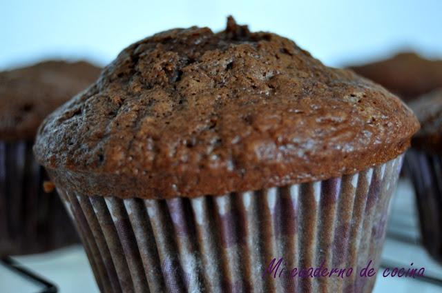 Nigella's chocolate muffins