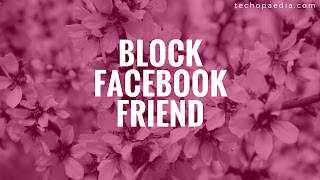 Blocking on Facebook-view block list