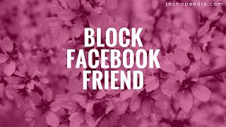 Blocking on Facebook-view block list