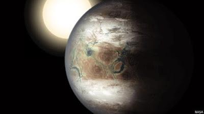 planeta gira alrededor de la pequeña estrella Próxima Centauri