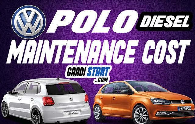 Volkswagen Polo Diesel Maintenance cost