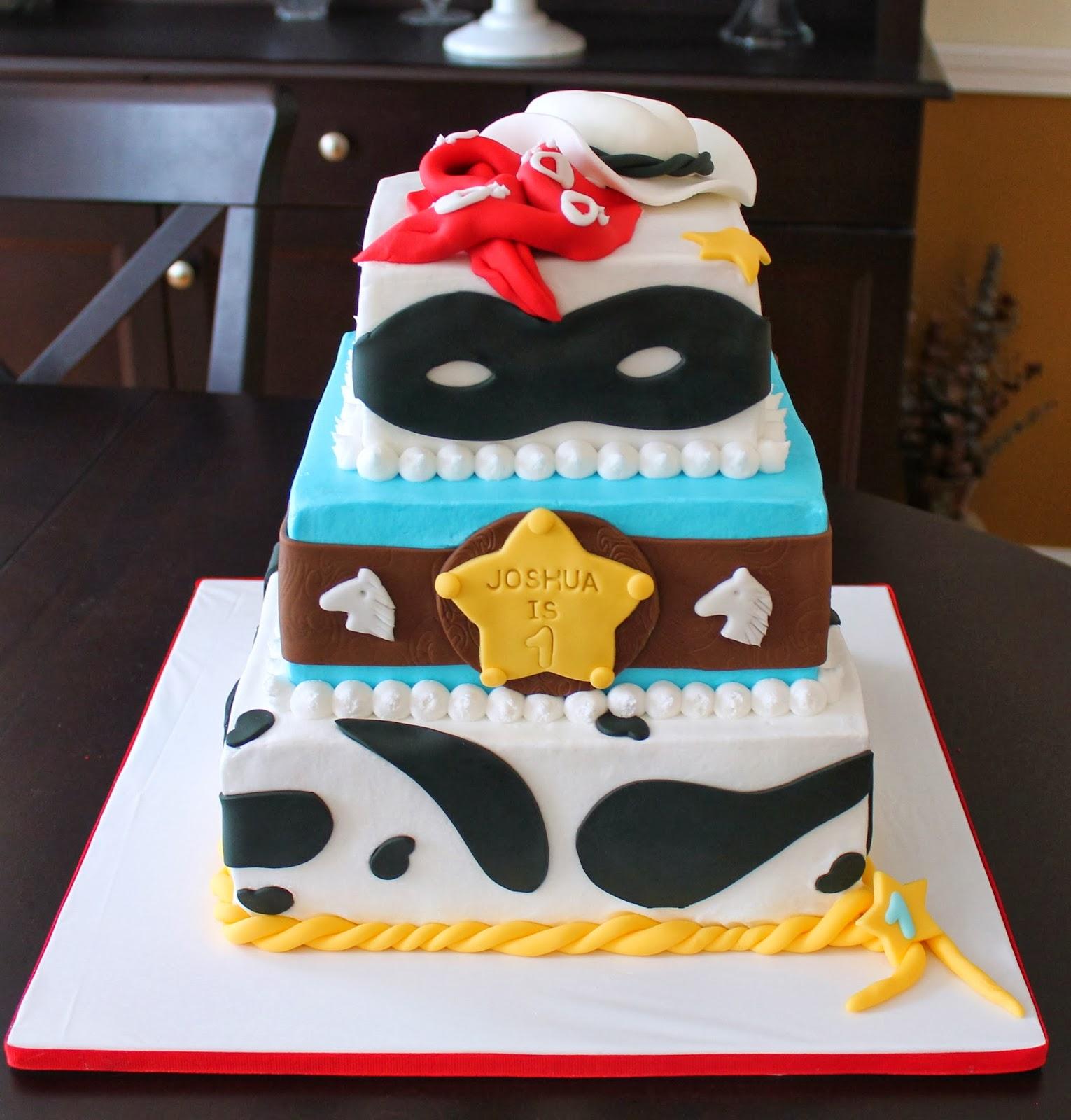 Creative Cakes By Lynn Lone Ranger Tier Cake