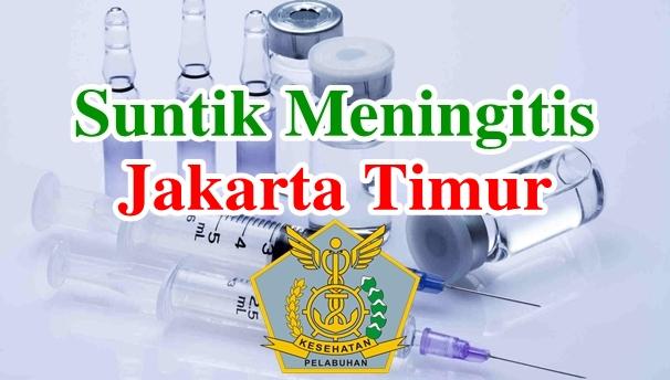 Alamat Tempat Suntik Vaksin Meningitis di Jakarta Timur