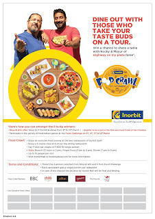"Inorbit mall, Vashi is all set to host ""Food Crawl"" exclusively for all you Navi Mumbaikars."