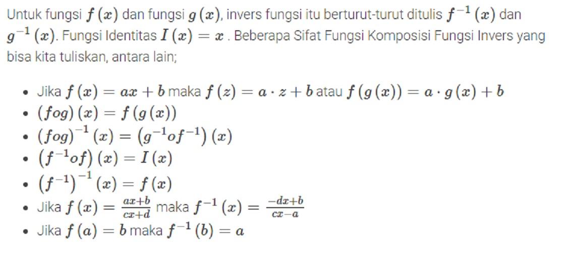 Cara Alternatif (Pintar Bernalar) Mengerjakan Soal Matematika Fungsi Komposisi (FKFI)