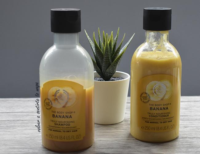 Champú y Acondicionador de Banana de The Body Shop