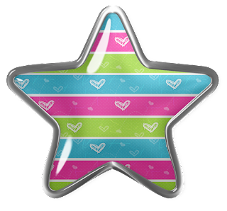 Free Printable Star on a Bottom Clipart.